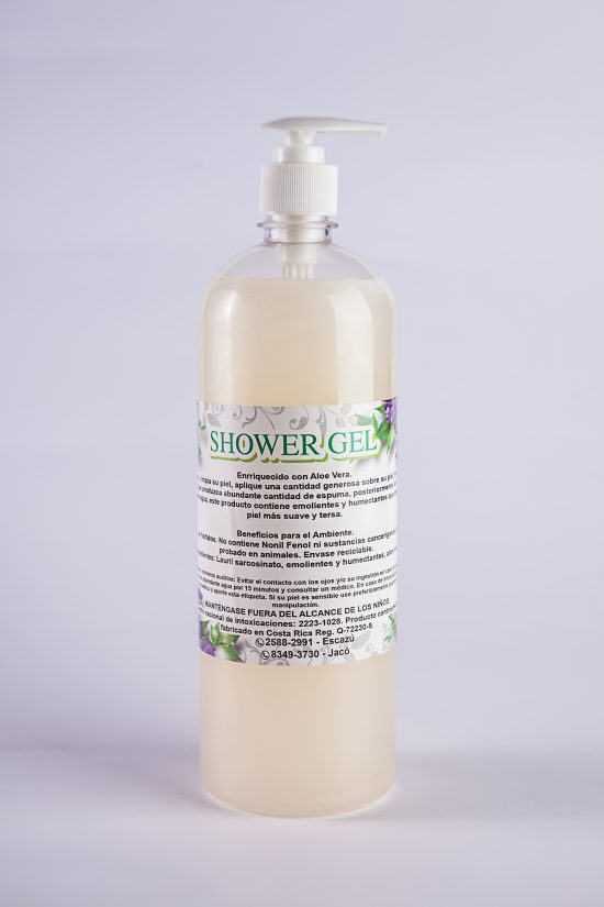 Shower gel biodegradable coco