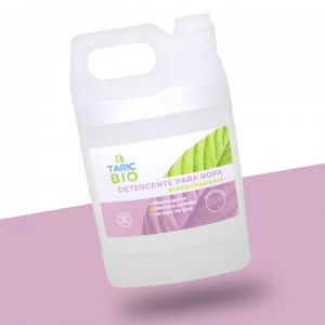 Detergente para ropa biodegradable